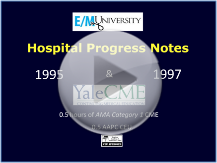 Hospital Progress Notes Preview