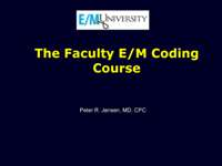 Faculty Course